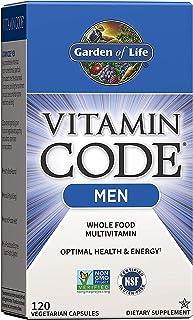 Garden of Life Vitamin Code Whole Food Multivitamin for Men, Fruit & Veggie Blend and Probiotics...