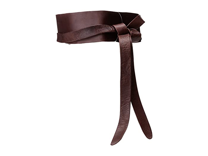 ADA Collection Obi Classic Wrap Belt (Chocolate) Women