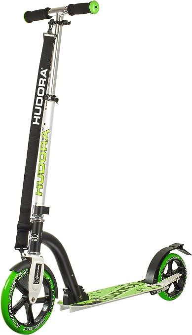 Hudora 14230 Bold Wheel 230 - Patinete, Color Plateado y ...