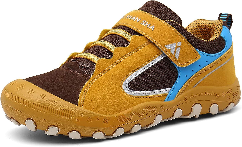 Mishansha Boys Girls Fort Worth Mall Athletic Hiking Shoes Max 59% OFF Anti Sl Collision Non