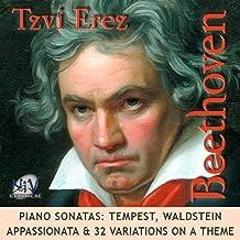 Beethoven Sonatas: Tempest, Waldstein, Appassionata & 32 Variations On a Theme