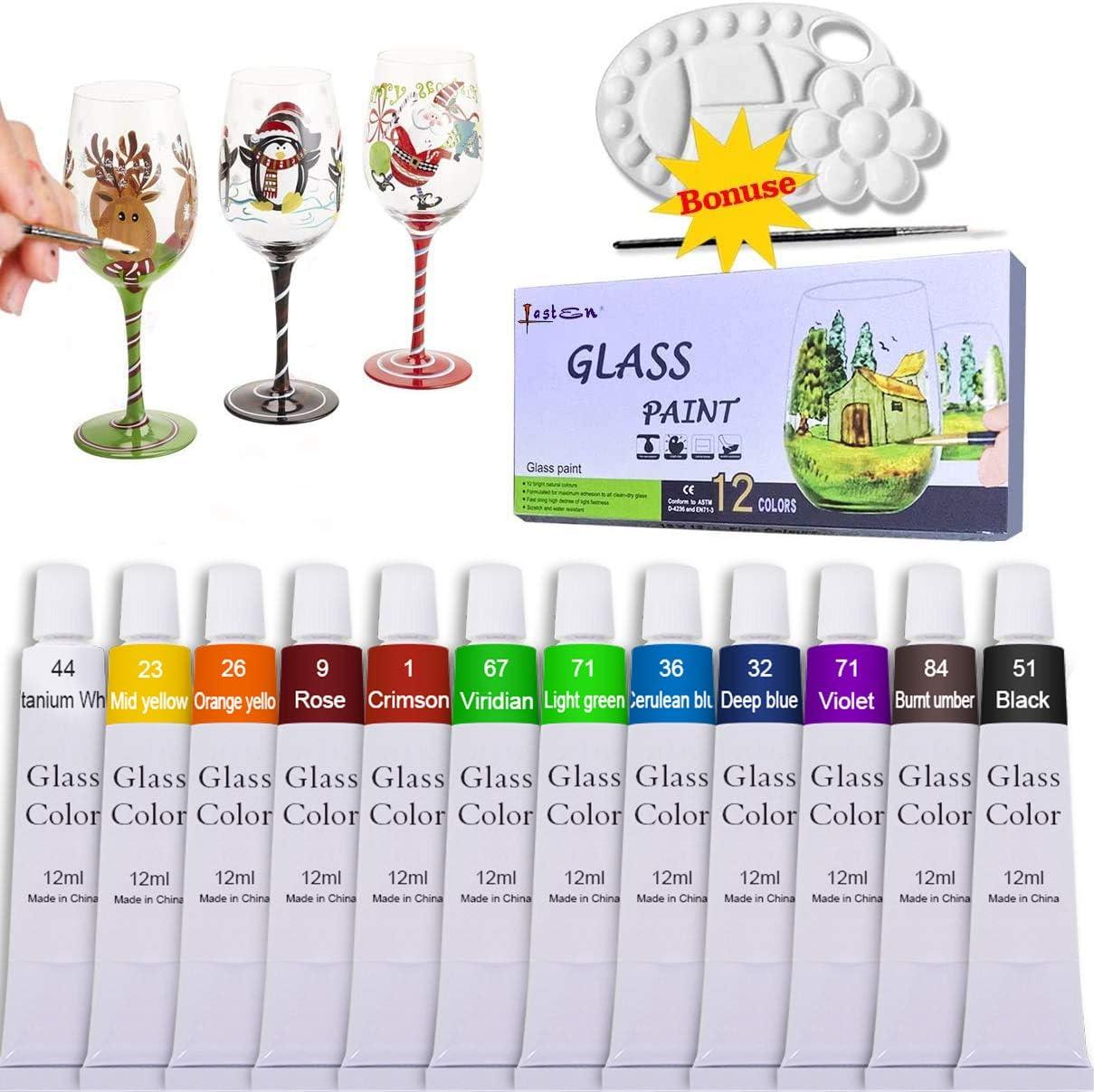 Set of Rose Colored Glass Bottle Lights