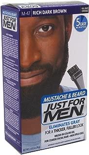 Just For Men Mustache & Beard, M-47 Rich Dark Brown
