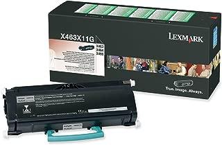 Lexmark X463X11G Extra High Yield Return Program Black Toner Cartridge