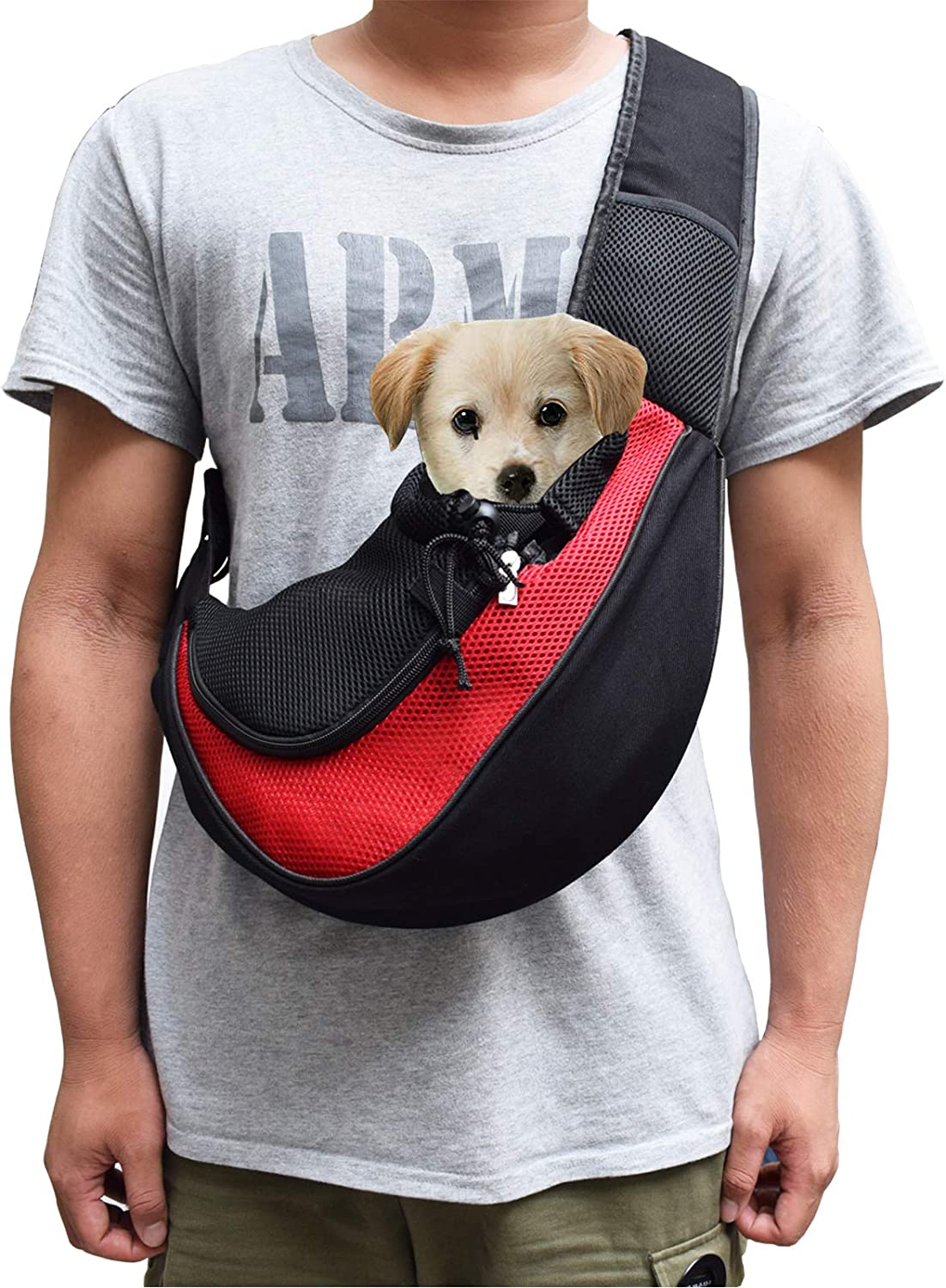 Asoract Small Dog Carrier Sling Carri Year-end gift Quality Pet famous Premium