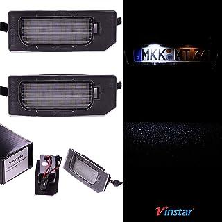 VINSTAR LED Kennzeichenbeleuchtung E geprüft Canbus 18 LEDs je Modul 6000 Kelvin V 032803