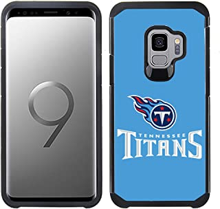 Prime Brands Group Textured Team Color Cell Phone Case for Samsung Galaxy S9 - NFL Licensed Tennessee Titans