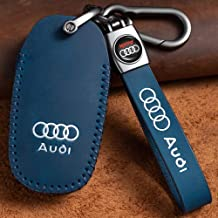 """N/A"" Creative Leather Car Key Case Suit for Audi TT TTs TT RS A3 S3 RS3 A4 S4 RS4 A5 S5 RS5 A6 S6 RS6 A7 S7 RS7 A8 S8 Q3 ..."