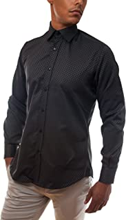 FourFront Fade 2 Black Mens Dress Shirt