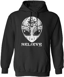 Buzz Shirts Aliens Believe Unisex Hoodie Or Sweater