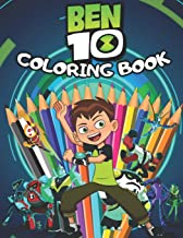 BEN 10 Coloring Book: Great 36 Illustrations for Kids