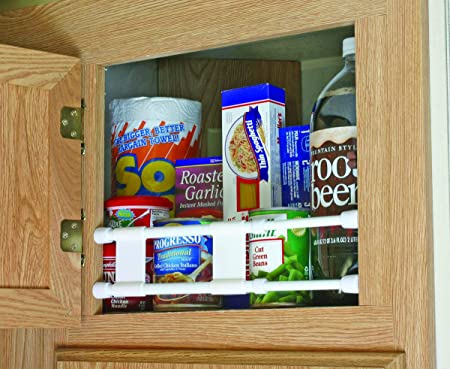 """Details about  /Camco 17/"""" RV Double Cupboard Bar Holds Food and Drinks in Place During Trave..."""
