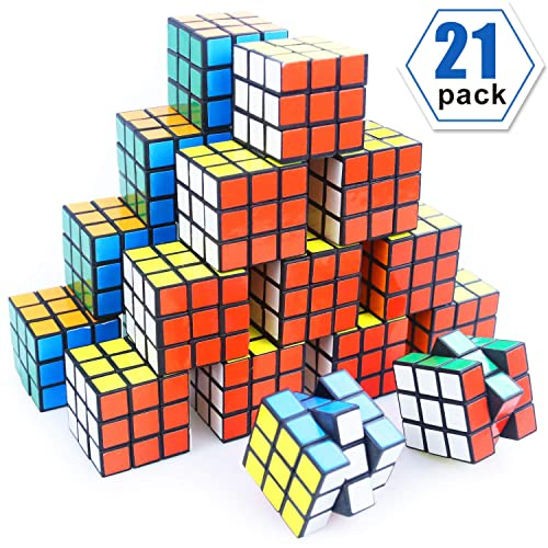 Mini Cube Puzzle Party Toy Eco Friendly Material With Vivid ColorsParty