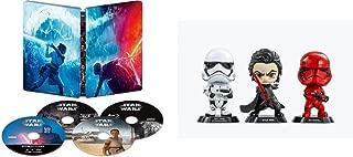 【Amazon.co.jp限定】スター・ウォーズ/スカイウォーカーの夜明け 4K UHD MovieNEX スチールブック(HOTTOYSコラボレーション企画 オリジナルコスベイビー付き<KYLOREN,SITHTROOPER,STOMTROOPER>) [4K ULTRA HD+3D+ブルーレイ+デジタルコピー+MovieNEXワールド] [Blu-ray]