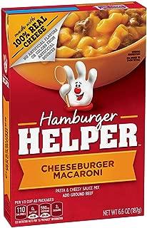 Betty Crocker Hamburger Helper, Cheeseburger Macaroni Hamburger Helper, 6.6 Oz Box