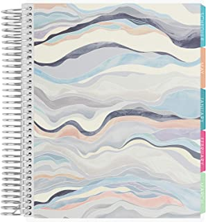 $31 » Erin Condren 12 - Month 2021 Academic Planner 7x9 (January - December 2021) - Layers Neutral Cover, Organizer Includes Mon...
