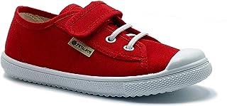 Zapatillas de Lona para niña y niño/Bambas Infantiles con aromaterapia antimosquitos/Calzado Infantil con Cierre de Velcro...