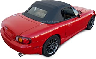 Sierra Auto Tops Mazda 1990-2005 Miata Convertible Top, Cabrio Vinyl, Black