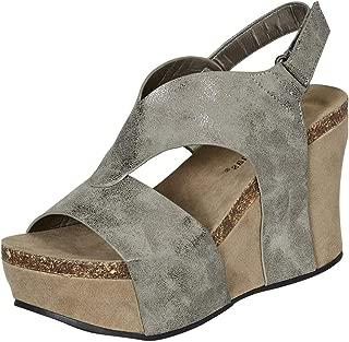 pierre dumas wedge sandals