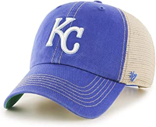 '47 Brand Kansas City Royals Trawler Clean Up Adjustable Hat Cap, Snapback Blue