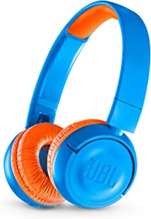 JBL Kids Wireless On-Ear Headphone Jr300Bt - Blue/Orange