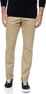 TIMBERLAND Men's S-L Stretch Twill Chino Pants, Beige (British Khaki), Size: 32