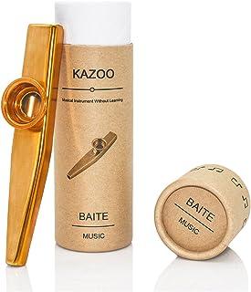 Kazoo metálico calidad de empaquetado de regalo hermoso (un