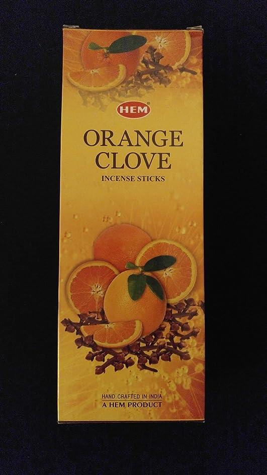 おそらく側ロードハウスオレンジクローブ6ボックスの20?= 120裾Incense Sticksバルクケース小売表示ボックス