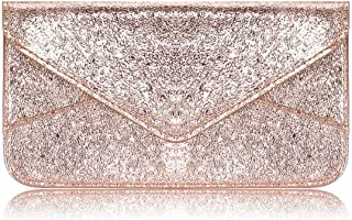 Ultra Slim Envelope Wallet for Women Envelope Style Thin Clutch Purse Credit Card Holder for Ladies Girls Phone Cash