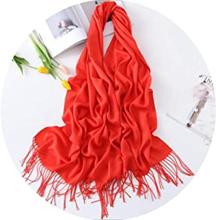 Scarves for women shawls and wraps fashion solid female hijab stoles winter cashmere scarves foulard