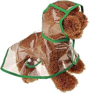 Lychee - Chubasquero con capucha para mascotas, impermeable, para perros pequeños y gatos