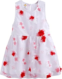 Mud Kingdom Cute Girls Dresses Fairy 3D Flower and Butterfly