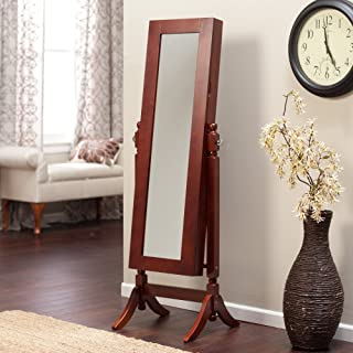 Finley Home Heritage Jewelry Armoire Cheval Mirror -