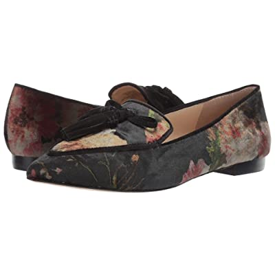 SOLE / SOCIETY Hadlee-2 (Black Floral) Women