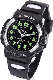 Kids Watch, Child Quartz Wristwatch with for Boys Kids Waterproof Time Teach Watches Rubber Band Analog Quartz Children Sport Outdoor Wrist Watches