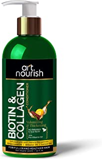 art nourish Biotin & Collagen Hair Volumizing And Thickening Conditioner- No SLS/Sulphate, Paraben or Silicone (300 ml)