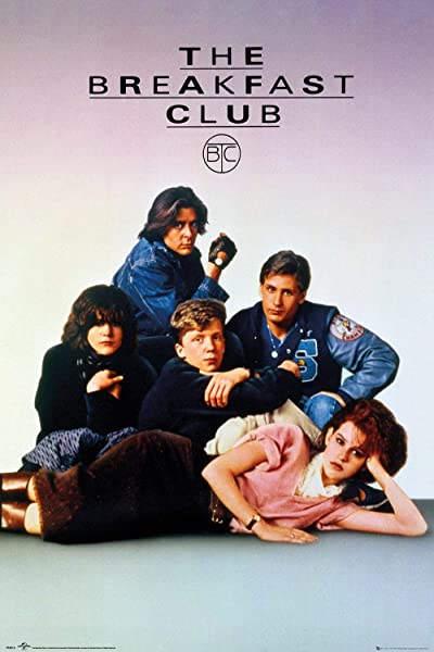 The Breakfast Club Movie Poster Regular Style Key Art Size 24 Inches X 36 Inches
