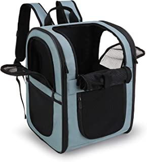 apollo walker Pet Carrier Backpack for Small Cats and Dogs, Puppies, Two-Sided Entry, Safety Features and Cushion Back Sup...