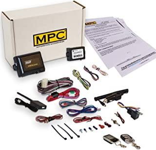 Complete 2-Way LCD Keyless Entry Remote Start Kit for 2005-2010 Toyota Tacoma w/Bypass Module & Downloadable Tip Sheet