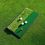 FORB Alfombra de Práctica para Entrenamiento de Golf – Launch Pad Alfombra de Golf (Opción de Dos Estilos) (Alfombra 'Dos en Uno')