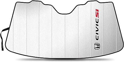 iPick Image - Stand-Up Universal Fit Premium Folding Sunshade - Honda Civic Si