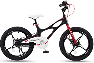 RoyalBaby Space Shuttle Lightweight Magnesium Kid's Bike with Disc Brakes for Boys and Girls, 14-16 Bike with Training Whe...