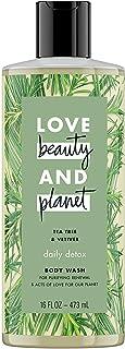 Love Beauty and Planet - Tea Tree & Vetiver Body Wash 16 FL OZ