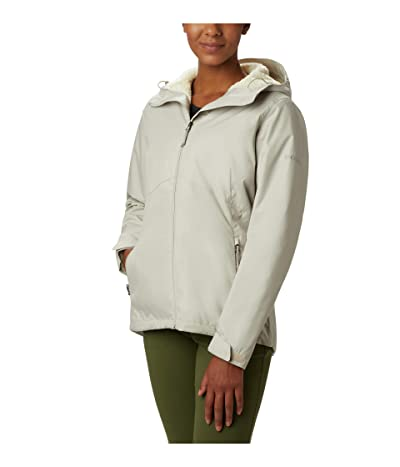 Columbia Rainie Falls Jacket (Light Cloud/Light Bisque) Women