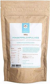 comprar comparacion Leche desnatada en polvo, 500 g, de leche de granjas alemanas, entre otros, para yogur, como leche de café o en batidos.