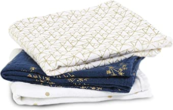 aden + anais Classic Musy 3 Pack - Metallic Gold Deco