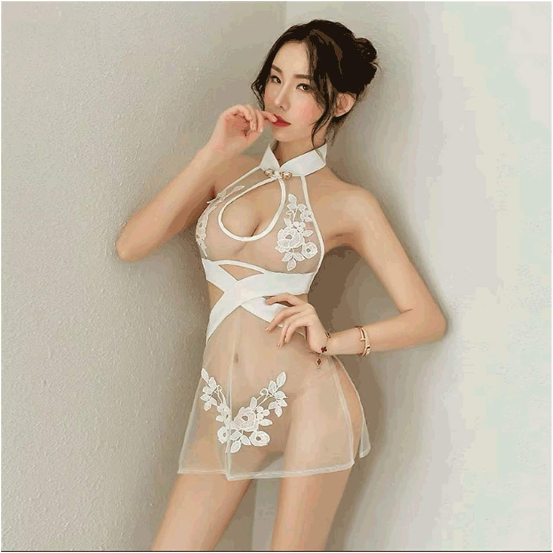 ZANZAN Sexy Popular product Nightwear Transparent Uniform Cheongsam Indefinitely Pajamas