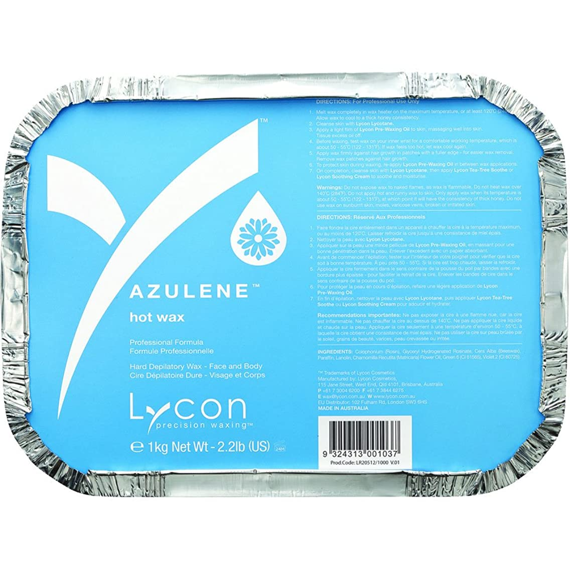 Lycon Azulene Hot Wax Stripless Hot Wax 35.3 oz