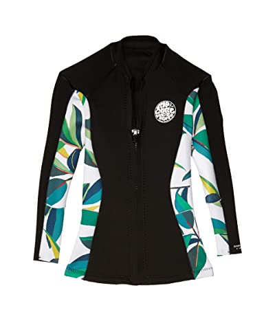 Rip Curl Dawn Patrol Long Sleeve Jacket (White/Black) Women
