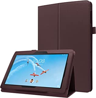 Gylint Lenovo Tab E10 TB-X104F / Lenovo Tab E8 TB-8304F Multi-Angle Stand Slim-Book PU Leather Case Cover with Stylus Slot...